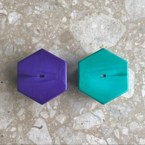 Jewelry - Retro Hexagon Ring Box Lot Bundle Modern